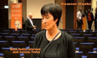 Mona Sahlin interview with Demtsi Hezbi 21 Sep 2014