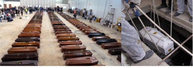 On 4th Year of Lampedusa, Deaths Continue While  Eritreans Bodies Remain in Underground Vaults