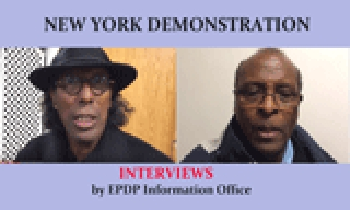 New York Demo Oct. 27, 2016 - Interviews