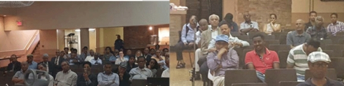 EPDP Delegation Holds Public Meeting For Eritreans in Toronto, Canada