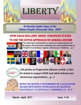 Eritrea Liberty magazine Issue No. 44