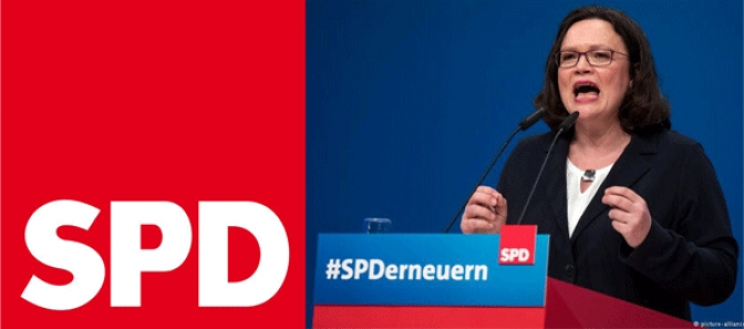 EPDP Chairman Congratulates Newly  Elected Chairwoman of Fraternal SPD