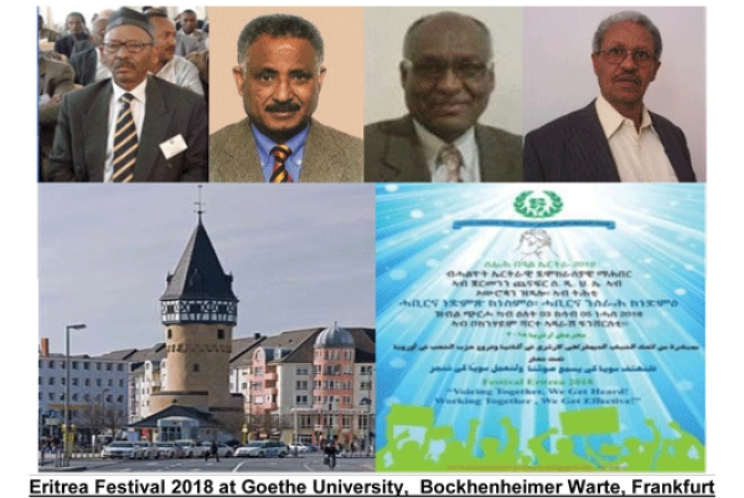 Vital Eritrean Dialogue Expected to Take  Place at Festival 2018 in Frankfurt