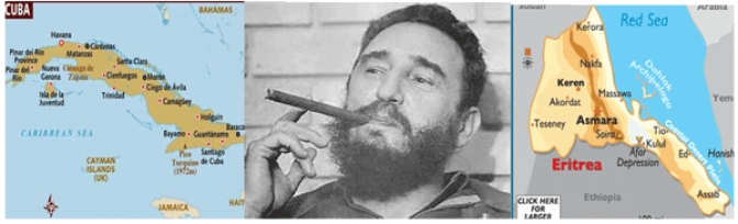 Eritreans Have Reasons to Remember Cuba's  Fidel Castro - for Good and Bad