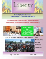 Eritrea Liberty Magazine Issue No. 39