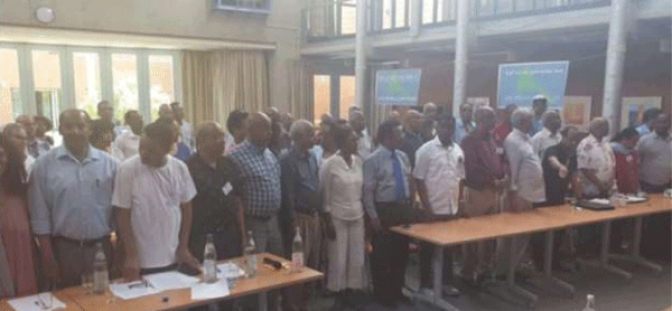 Eritreische Demokratische Vereinigung e.V. in Frankfurt am Main  Third and Unifying Congress of ENS – Hidri & EPDP