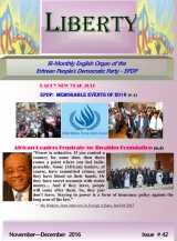 Eritrea Liberty Magazine Issue No. 42