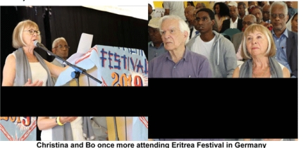 Swedish Old Friends of Eritrean  Attend Festival 2019 in Frankfurt