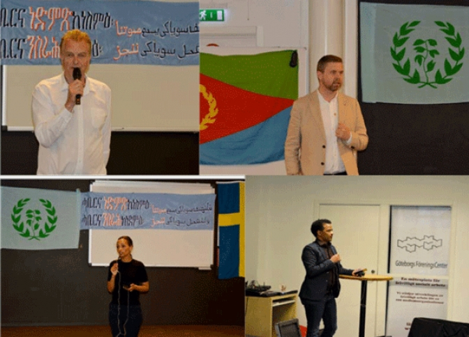 Swedish-Eritrean Solidarity Group Holds  Another Awareness Seminar in Gothenburg