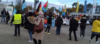 Eritrean Demo in Frankfurt Rejects  Friendships with Tyrant in Asmara